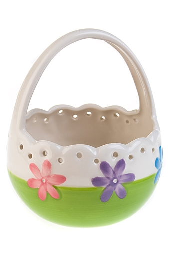 """Подставки для яиц Красный куб Корзинка для яиц """"Яркая весна"""""""