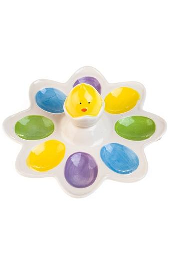 """Подставки для яиц Красный куб Блюдо для яиц """"Солнечный цыпленок"""""""