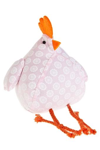 """Текстильные игрушки Красный куб Игрушка мягкая """"Смешной цыпленок"""""""