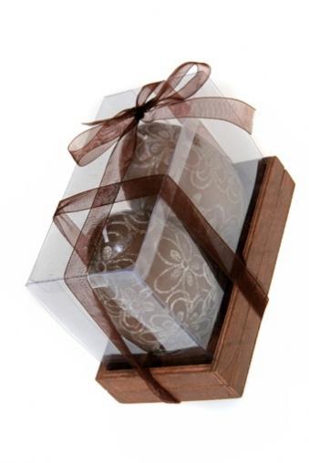 """Сувениры для женщин Красный куб Набор свечей """"Шоколадные яйца"""""""