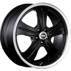 "Racing Wheels HF-611 (22""x10J 5x120 ET45 D72.6)"