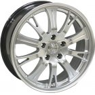 "Racing Wheels H-380 (17""x7J 5x114.3 ET45 D73.1)"