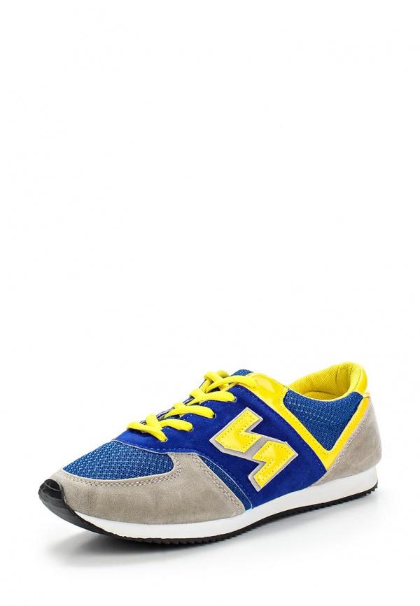 Кроссовки WS Shoes AM-802 серые, синие