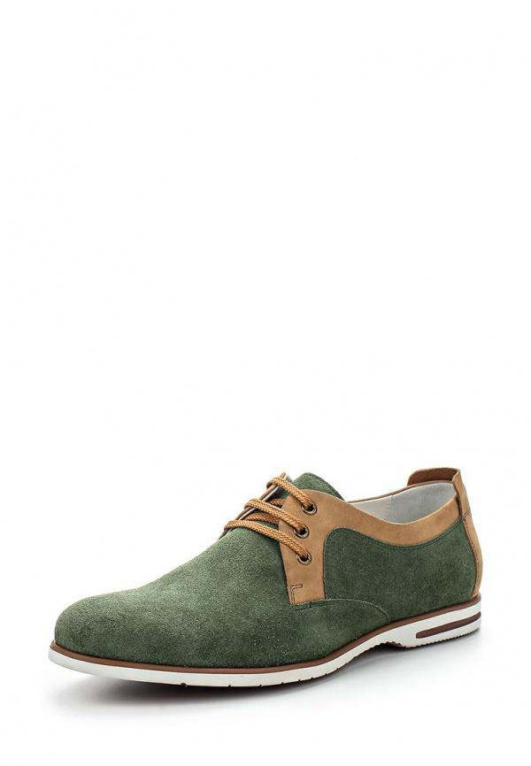 Туфли Mascotte 09-511101-2236M зеленые