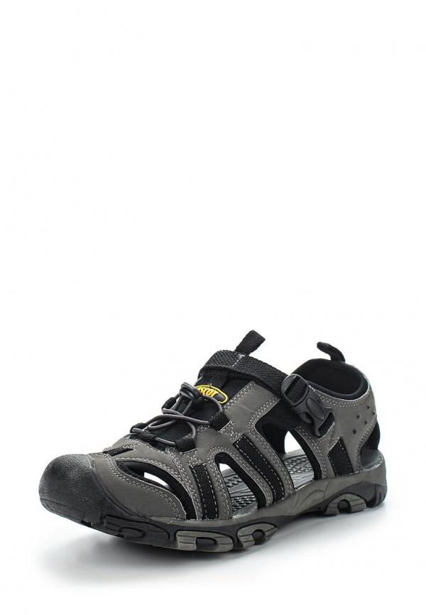 Сандалии Ascot SL 9480-01 OKAVANGO серые, чёрные