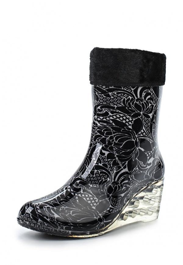 Резиновые сапоги Mon Ami 1513X208K-58 чёрные
