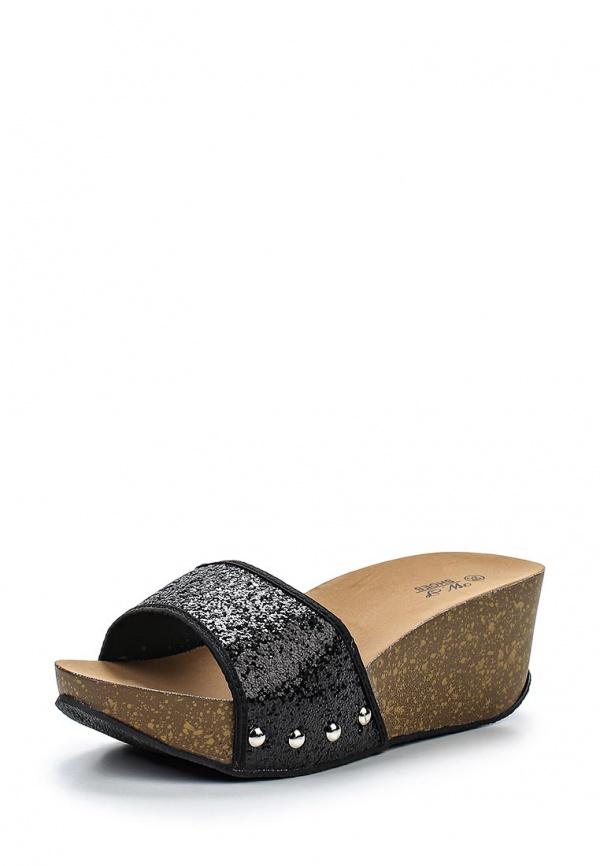 Сабо WS Shoes EM-13 чёрные
