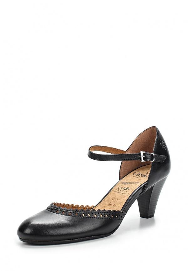 Туфли Caprice 9-9-24406-34-001 чёрные