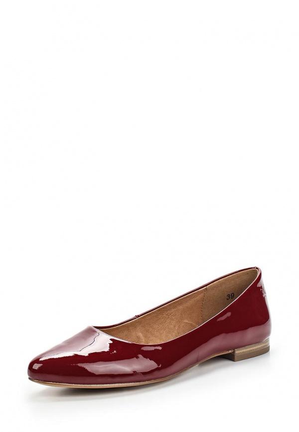Туфли Caprice 9-9-22107-24-505 бордовые