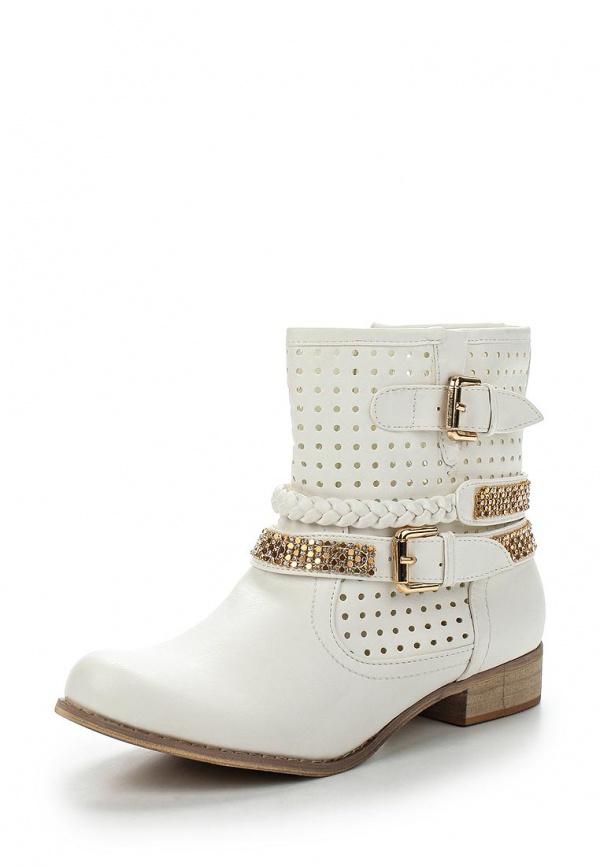 Полусапоги WS Shoes LL-01 бежевые