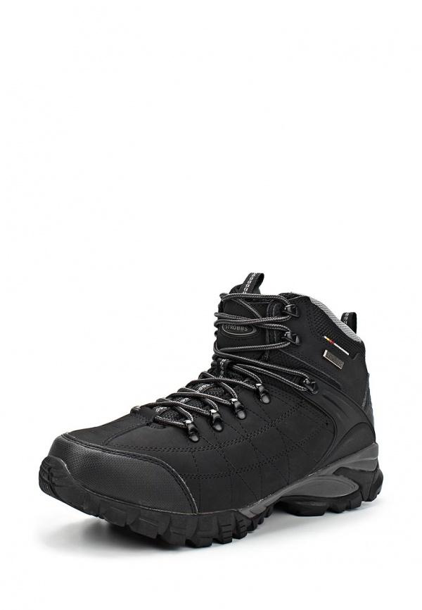 Ботинки трекинговые Strobbs C9011-3 чёрные