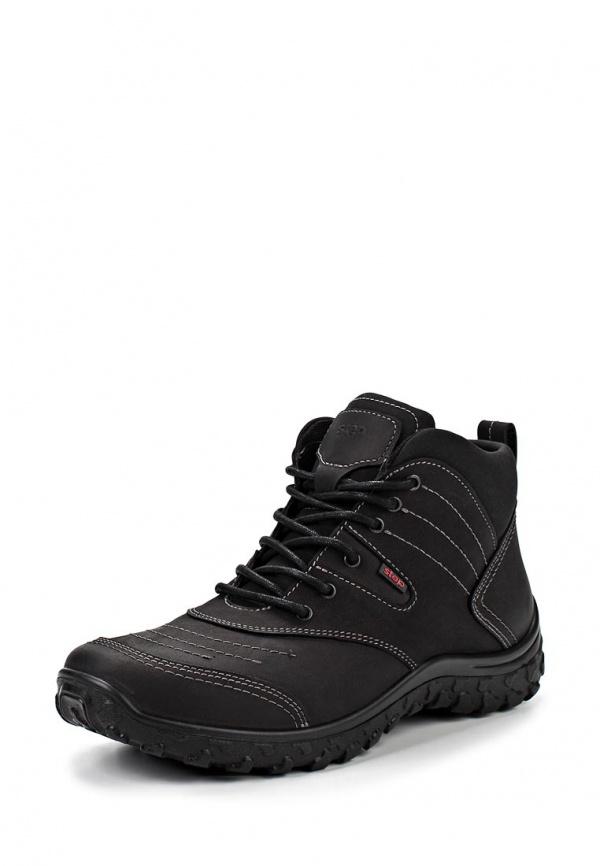 Ботинки трекинговые S-tep 233-1 чёрные