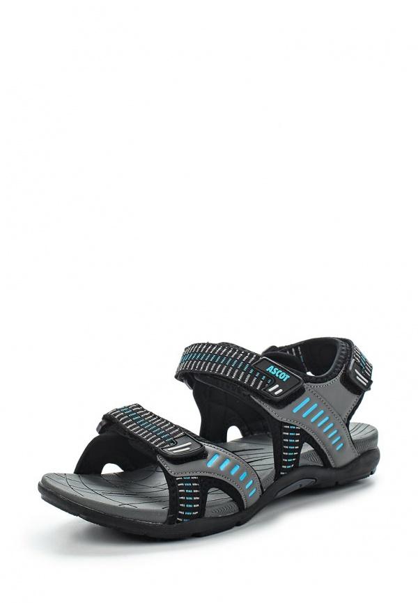 Сандалии Ascot SL 9479-01 JAVA серые, чёрные