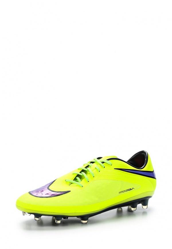Бутсы Nike 599075-758 жёлтые