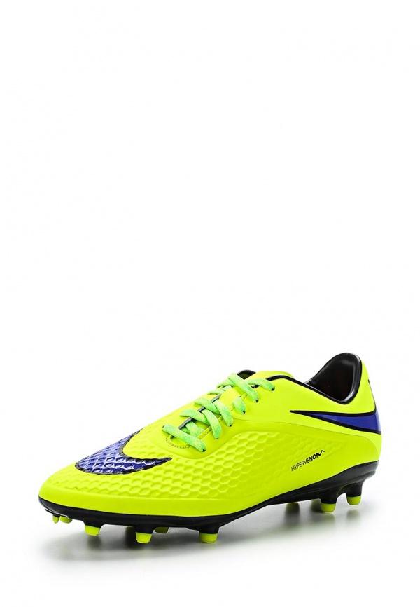 Бутсы Nike 599730-758 жёлтые