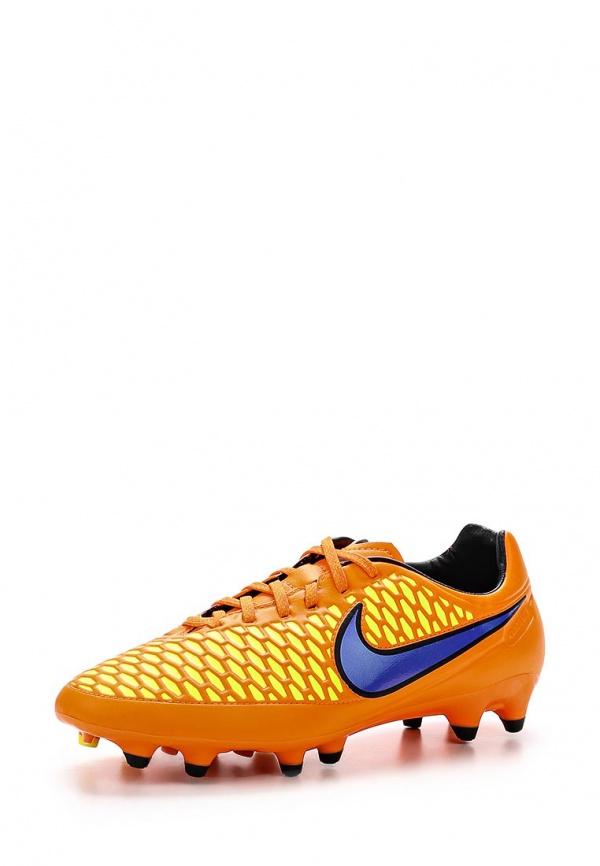 Бутсы Nike 651329-858 оранжевые
