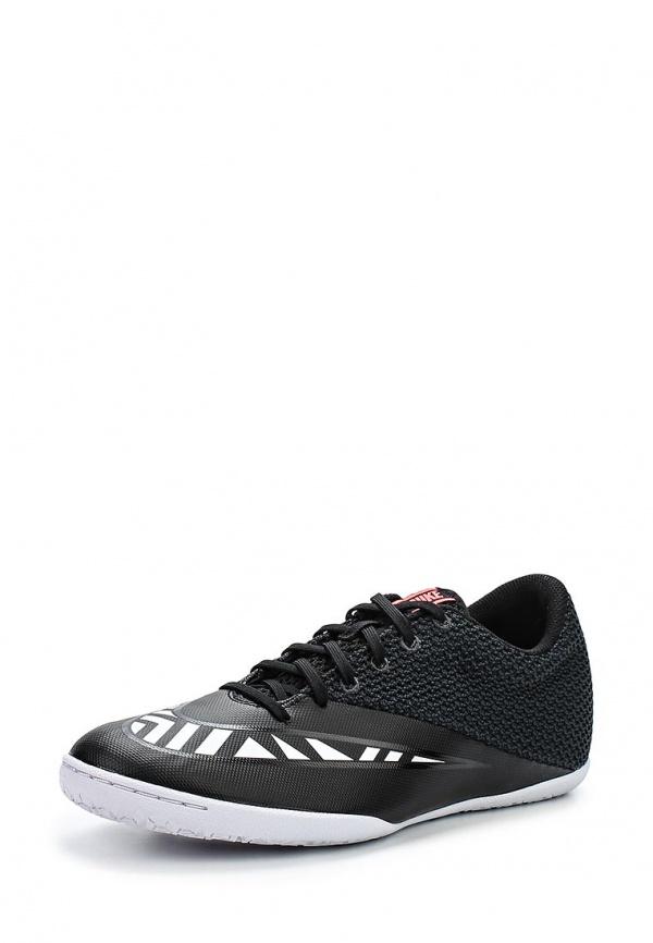 Бутсы зальные Nike 725248-018 чёрные