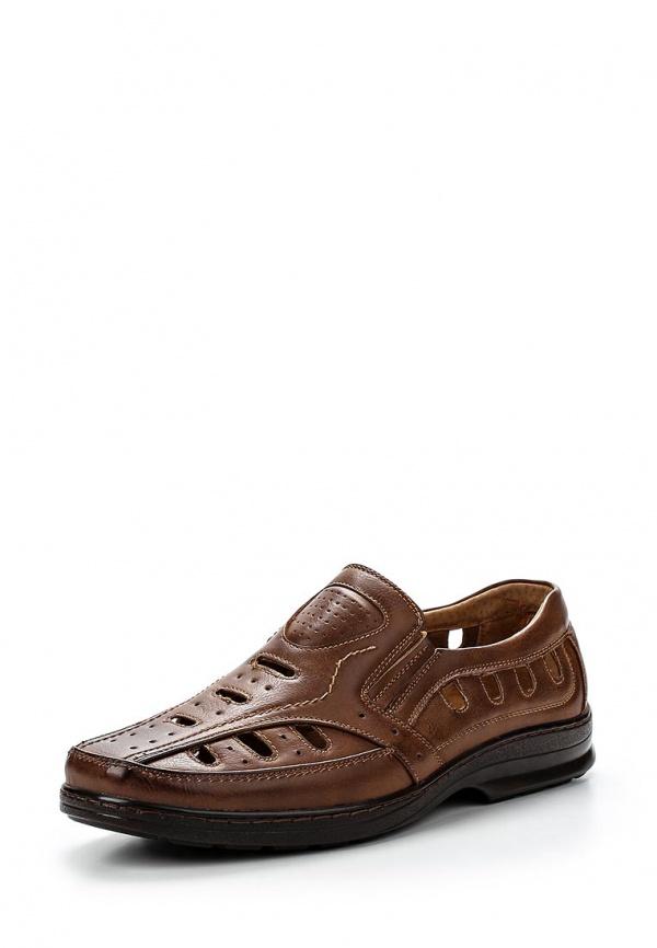 Лоферы Tesoro 157010/02-02 коричневые