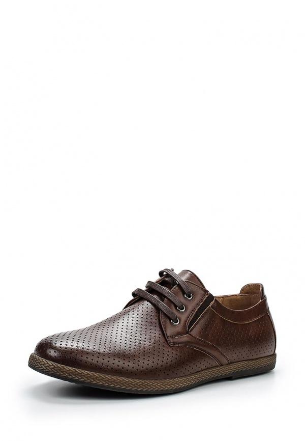 Туфли Tesoro 157004/04-03 коричневые