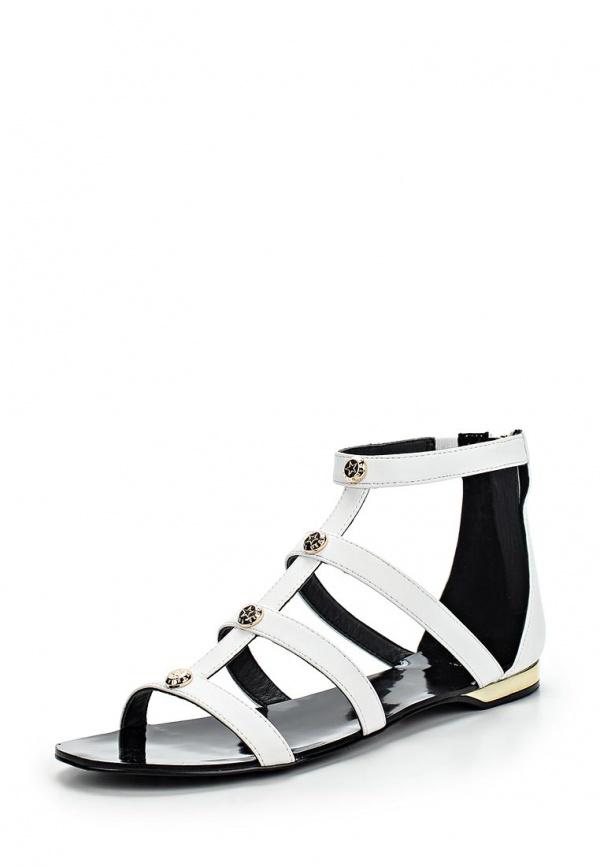 Сандалии Versace Jeans E0VLBS02 белые