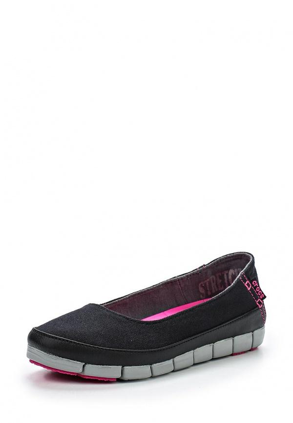 Балетки Crocs 15317-02G чёрные