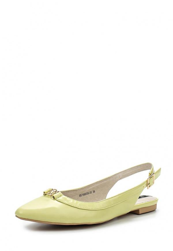 Туфли J&Elisabeth 957066/06-05 зеленые