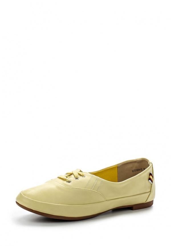 Ботинки J&Elisabeth 957018/04-02 жёлтые