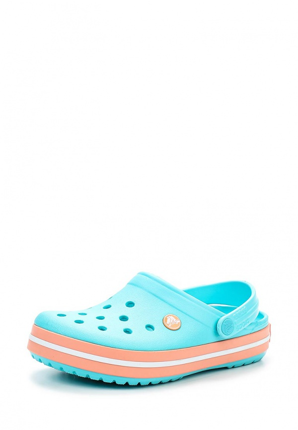 Сабо Crocs 11016-4DM голубые