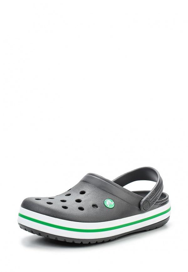 Сабо Crocs 11016-0U4 серые
