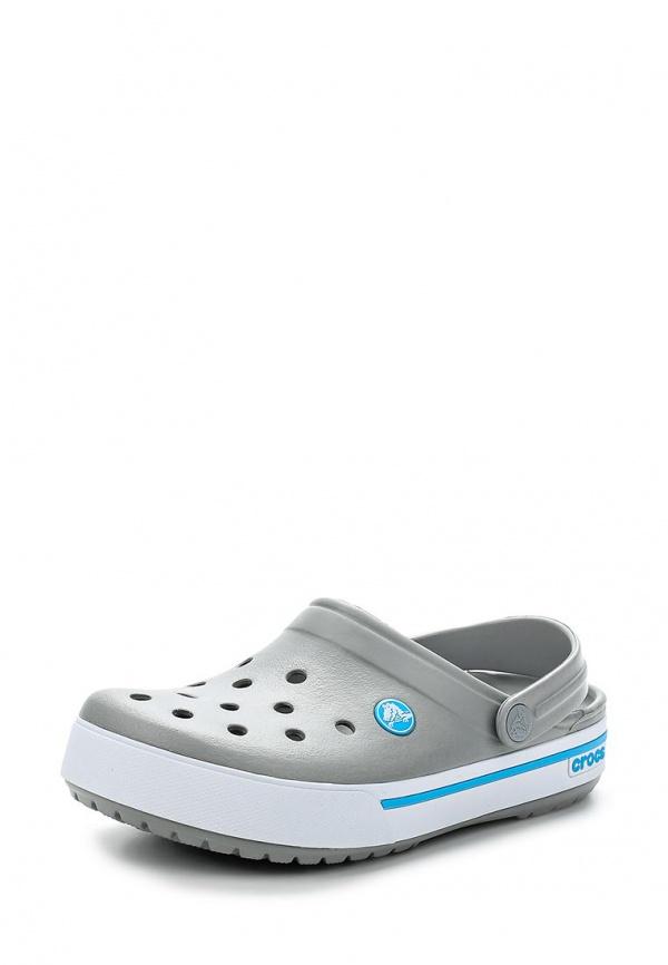 Сабо Crocs 12836-0D7 серые