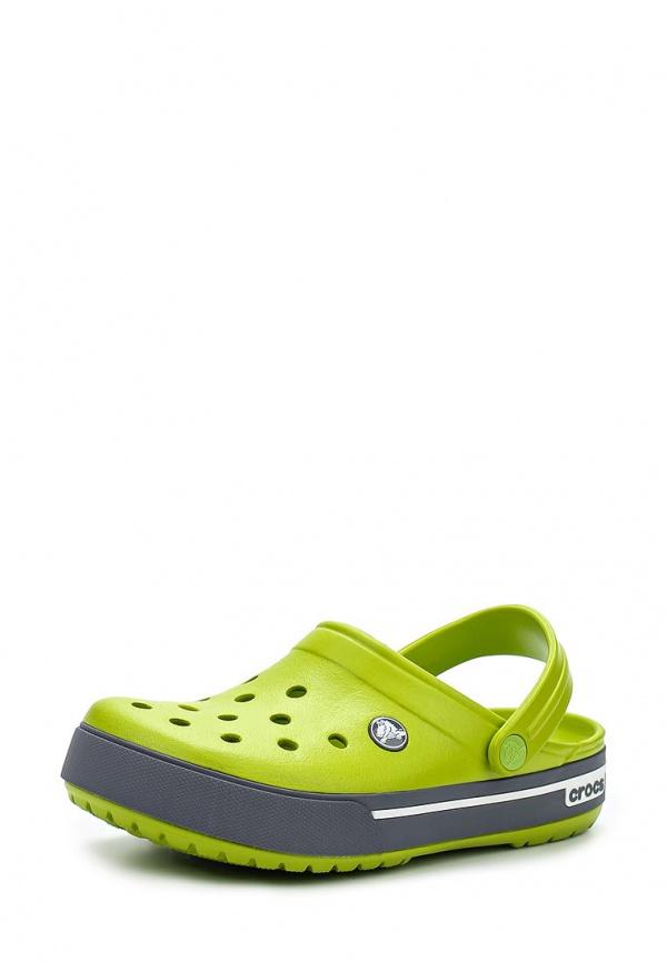 Сабо Crocs 12836-39M зеленые