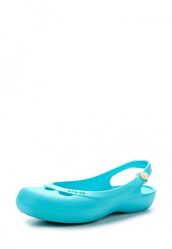 Акваобувь Crocs 11851-40M зеленые