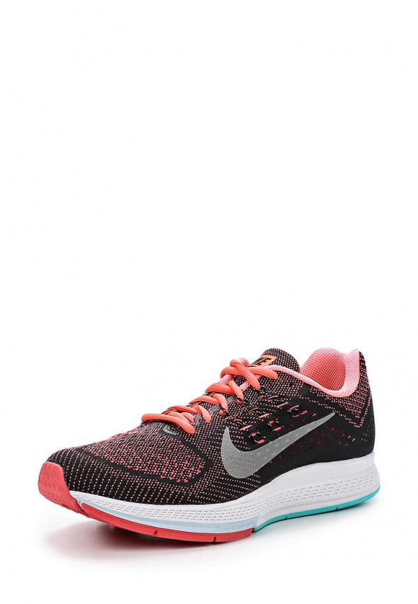 Кроссовки Nike 683737-800 оранжевые, чёрные