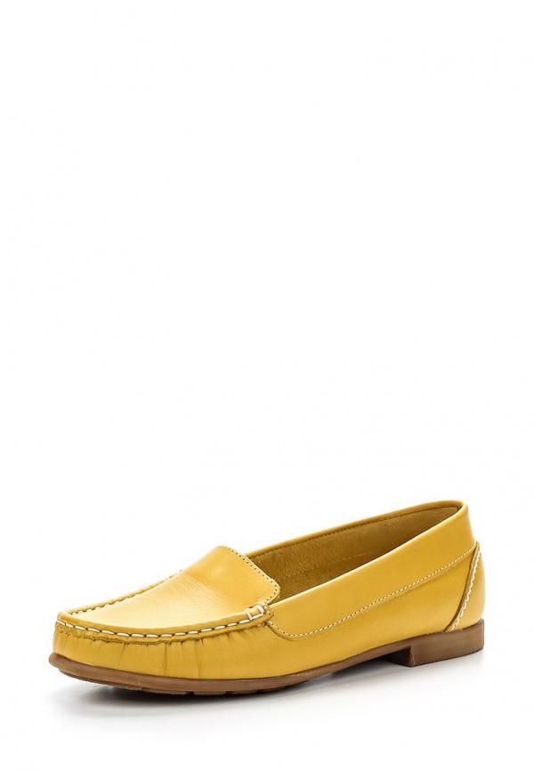 Мокасины Provocante 5070-32 жёлтые