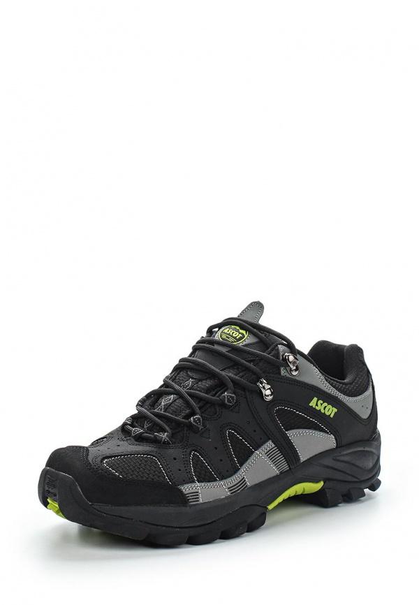 Кроссовки Ascot SH 2565 METEOR серые, чёрные
