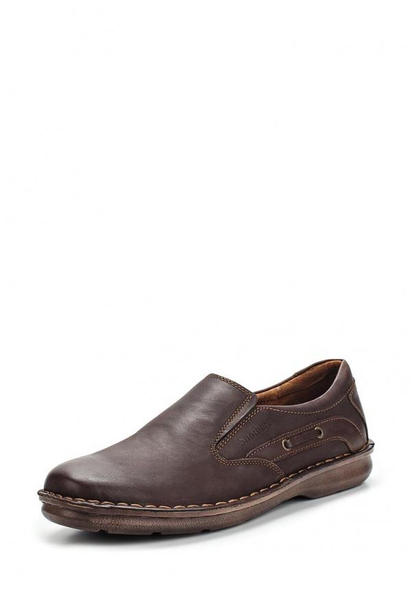 Лоферы SHOIBERG 302-82-02-06 коричневые