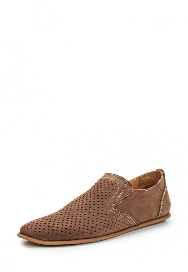 Лоферы SHOIBERG 327-10-01-02 коричневые
