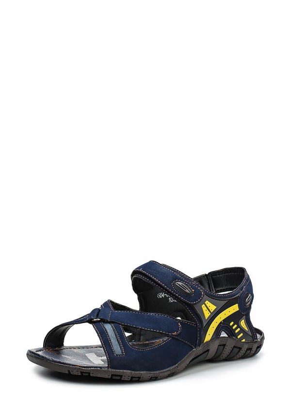 Сандалии Dutto 604-00A4E-3A синие