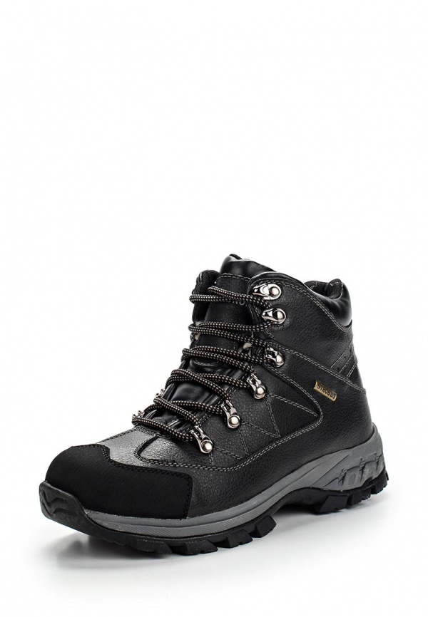 Ботинки трекинговые Strobbs F8006-3 чёрные