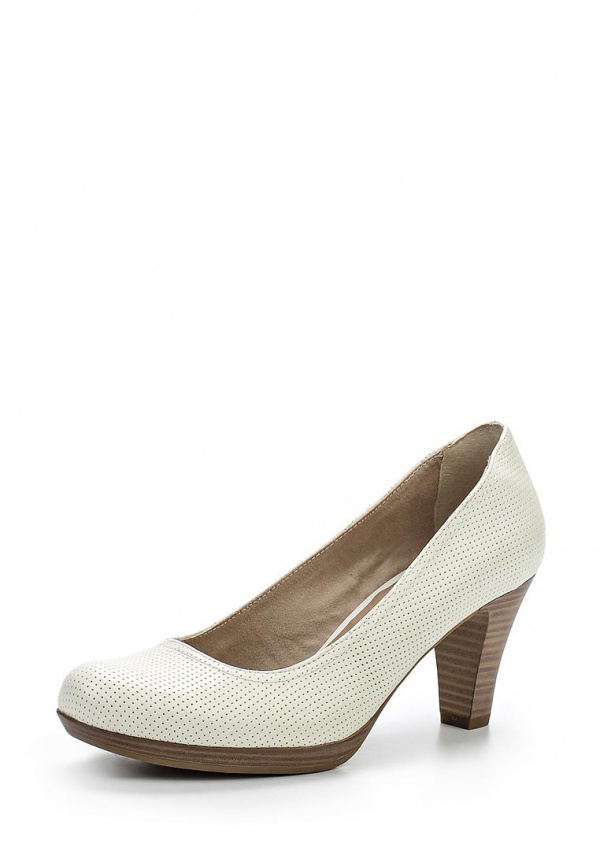 Туфли Tamaris 1-1-22410-24-160 белые