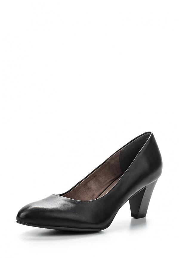 Туфли Tamaris 1-1-22413-24-001 чёрные