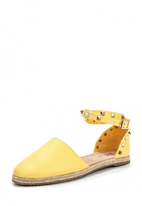 Эспадрильи Keddo 857228/01-11W жёлтые