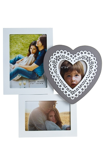 """Рамки для нескольких фото Красный куб Рамка для 3-х фото """"Любимая семья"""""""
