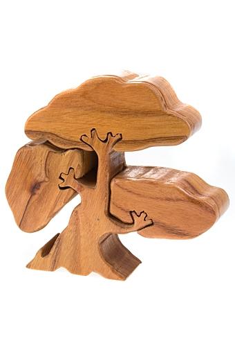 """Шкатулки для украшений Красный куб Шкатулка """"Дерево"""""""