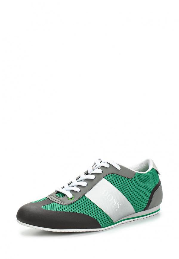 Кроссовки Boss Green 50279219 зеленые