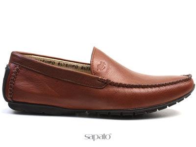 Ботинки El Tempo RM27 075-01-18 BRANDY Мокасины муж El Tempo коричневые