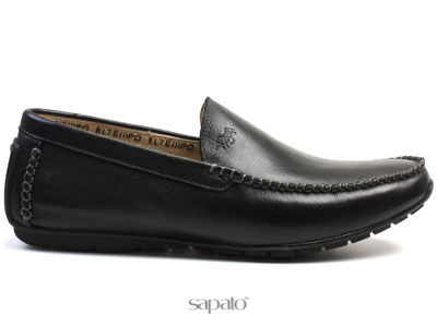 Ботинки El Tempo RM27 075-01-36 BLACK Мокасины муж El Tempo чёрные