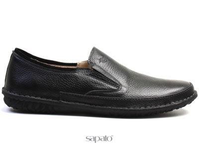 Ботинки El Tempo RM26 6822-02-75 BLACK Мокасины муж El Tempo чёрные