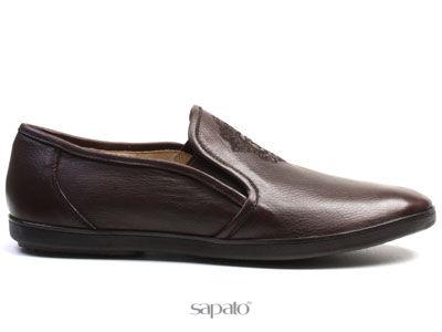 Туфли El Tempo RM28 206-01-90 BROWN Туфли муж El Tempo коричневые