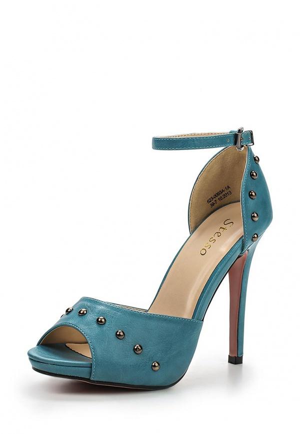Туфли Stesso 623-0093A-1A голубые